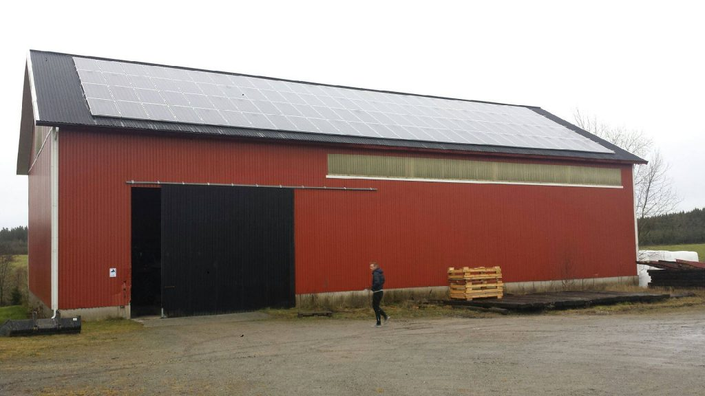 Solpaneler i lantbruk - Bullaren