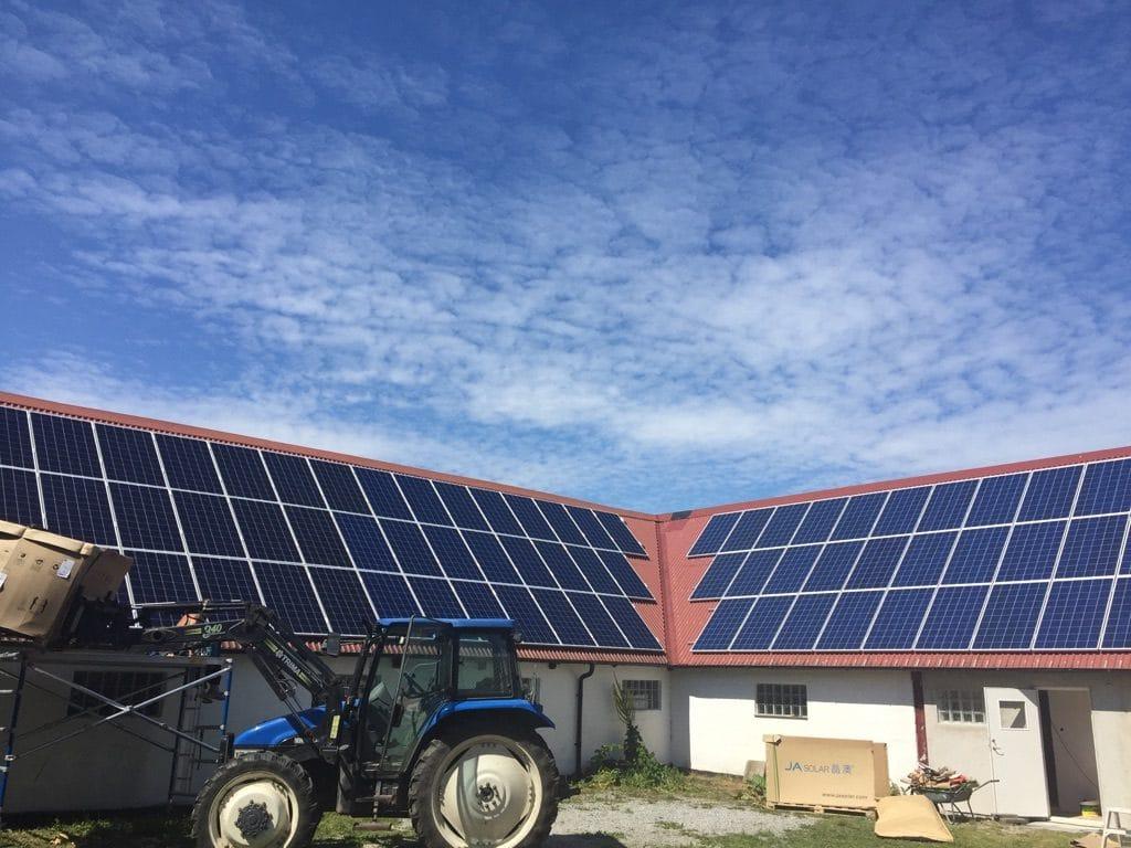 Solceller i lantbruk