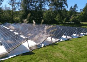 Solcellsanläggning