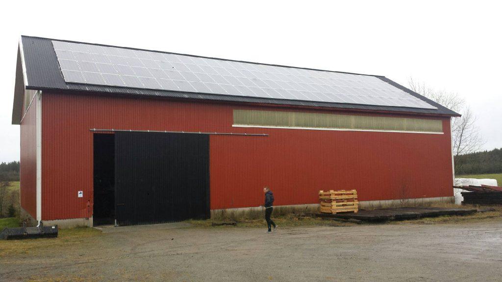 Solceller för lantbruk