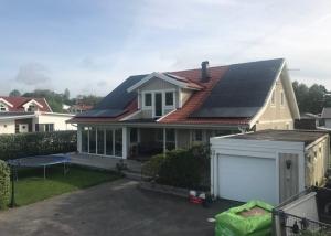 Solceller villa