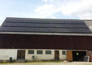 Solceller ladugård