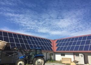 Solceller lantbruk