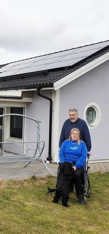 Aila och Sven i Kolbäck