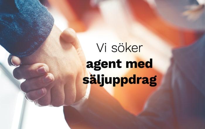 Agent med säljuppdrag