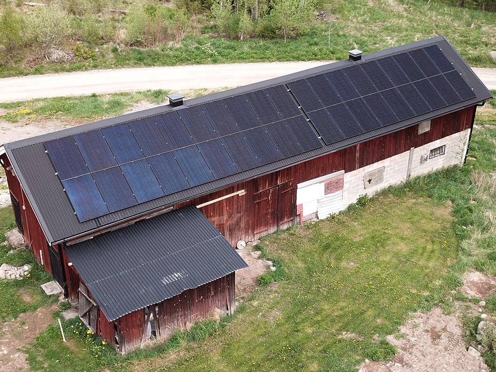 Solenergi i Gunnilbo