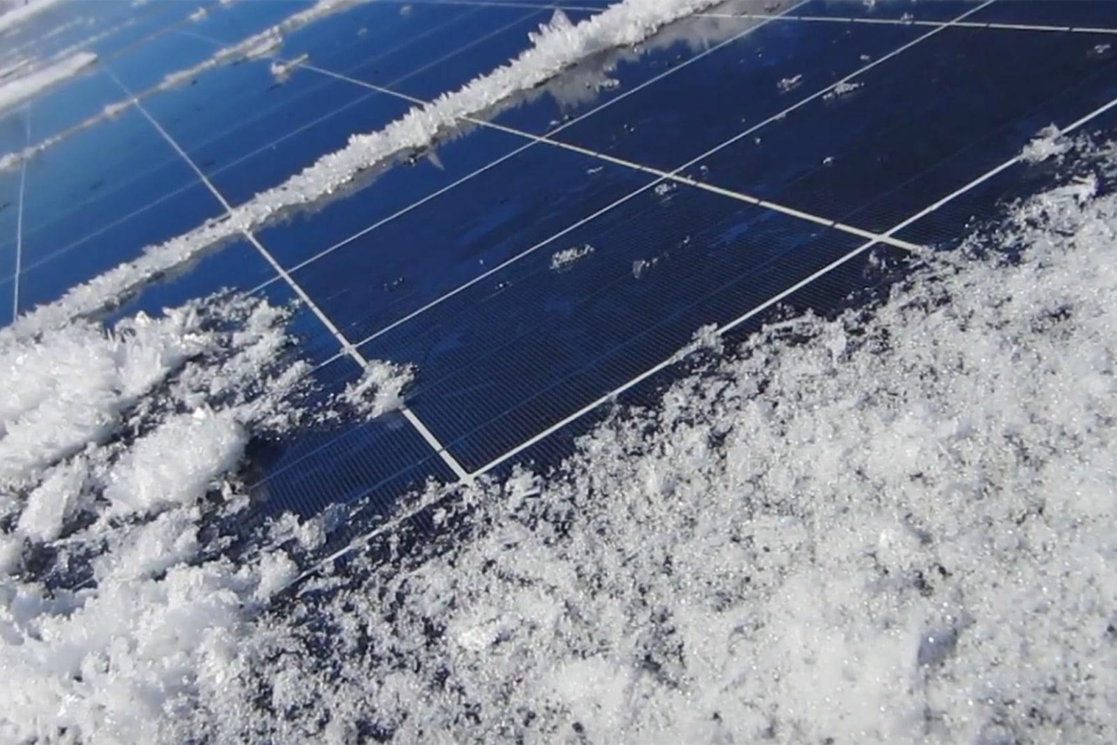 Spara sommarens solenergi till vintern
