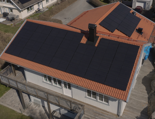 Eget solkraftverk i Mölnlycke